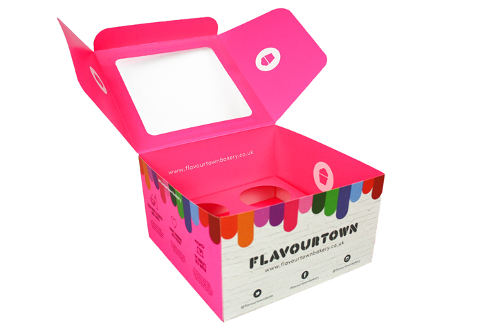 bespoke food box trays takeaway
