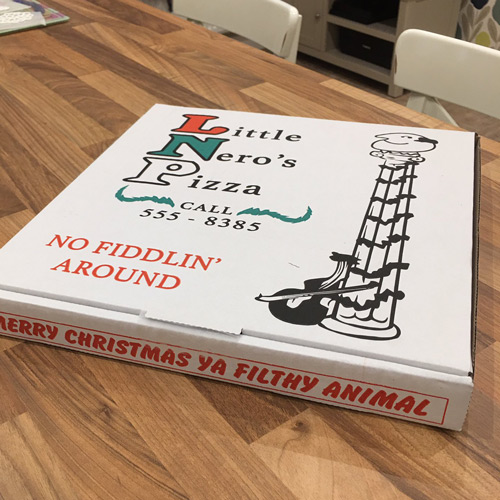 pizza box design inspiration bespoke custom printed
