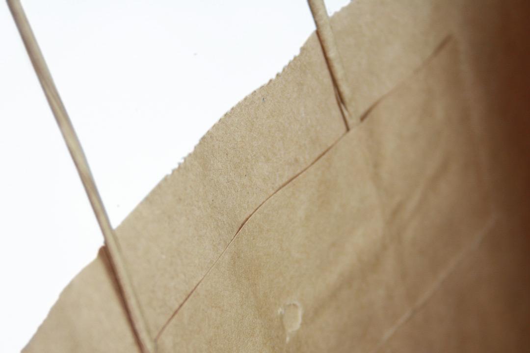 bespoke custom printed paper bags twisted handle