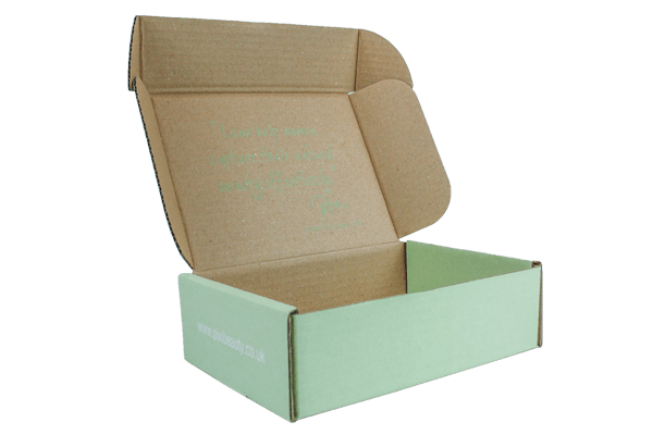 Bespoke Custom Printed Mailing Corrugated Box