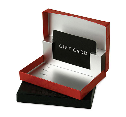 Pop Up Gift Card Boxes The Packaging Source