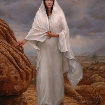 Mary Magdalene came to our youth group