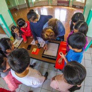 Volunteering at a Taiwanese school