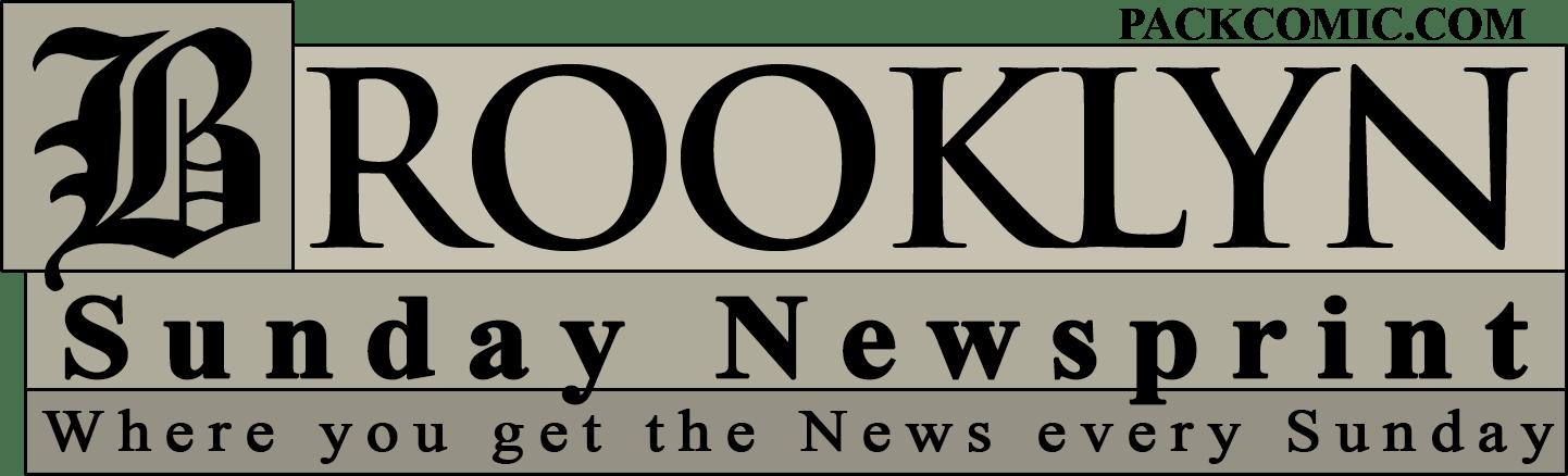 Brooklyn Sunday Newsprint, newspaper logo