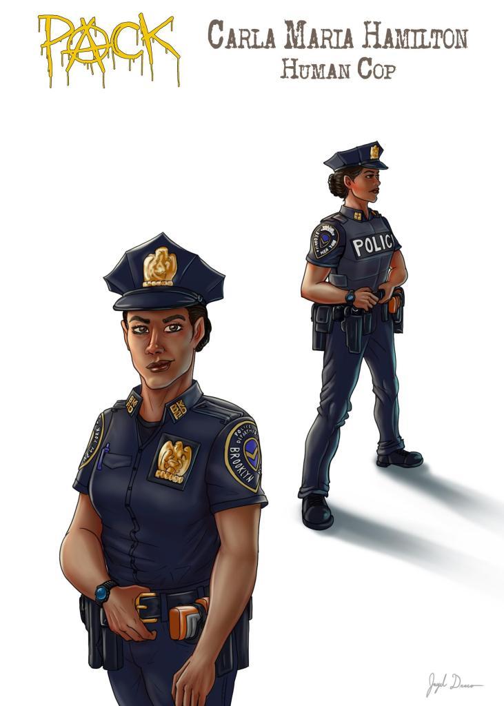 Bio pic of Officer Carla Maria Hamilton