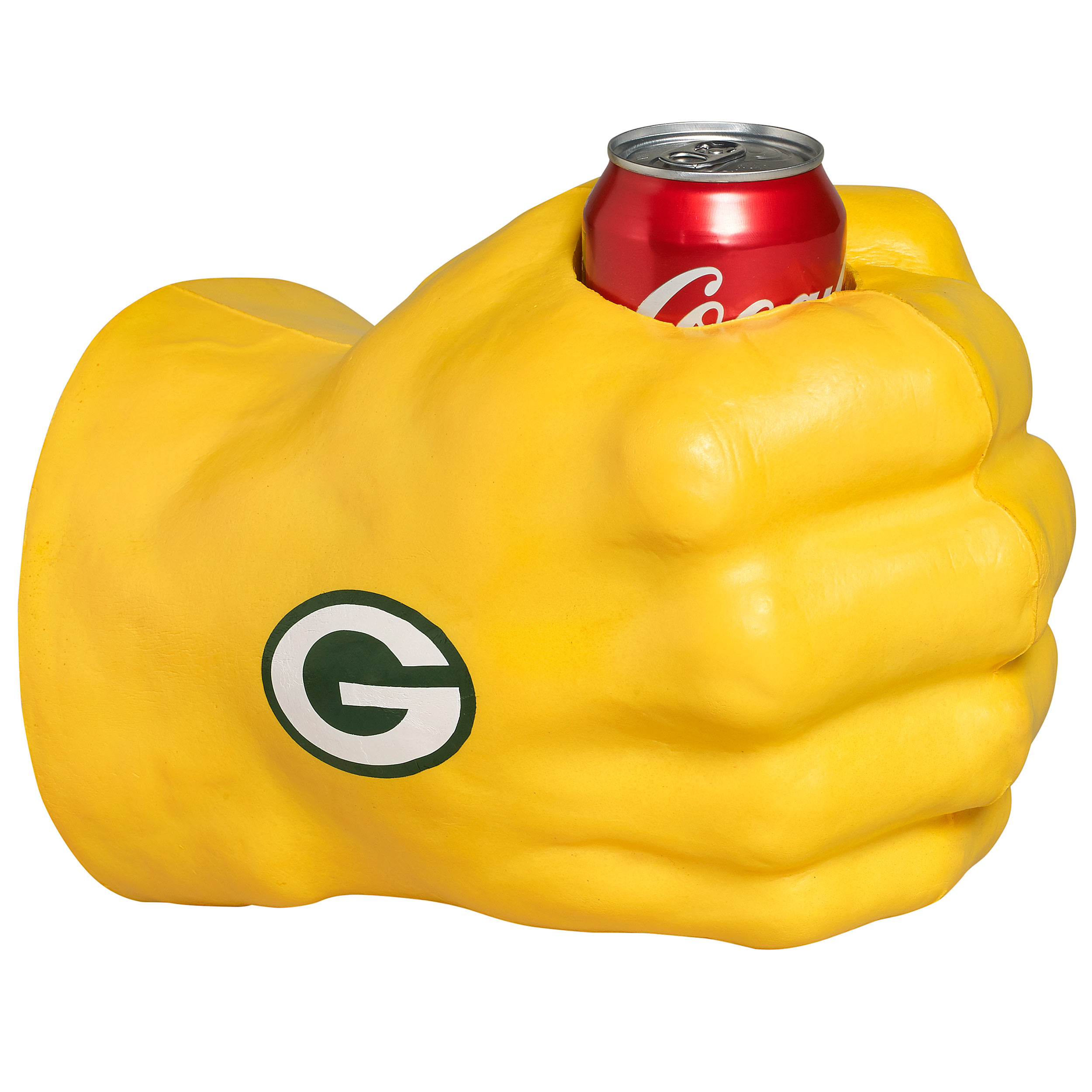 green bay packers fanfist beverage holder