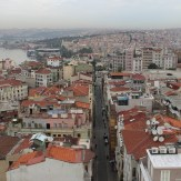 View from the Galata Tower, Istanbul, by Packing my Suitcase.