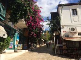 A street in Kaş
