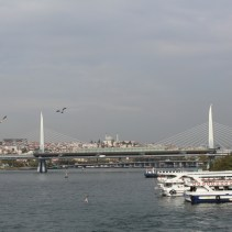 View from the Galata Bridge, Istanbul, by Packing my Suitcase.