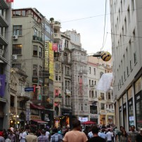 Istiklal Avenue, Istanbul, by Packing my Suitcase.