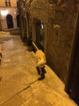 Walking the streets of San Marino