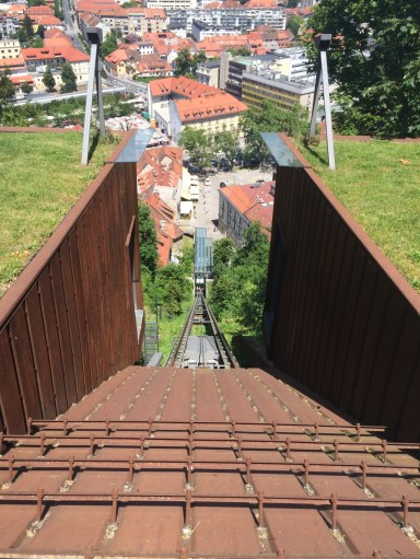 The way down with the Funicular