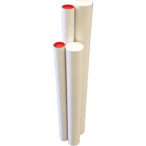 1x 1040x90x1 8mm high quality cardboard mailing tubes with end caps poster tubes for shipping and storage