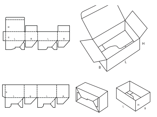 Know Your Different Styles of Corrugated Cardboard Boxes