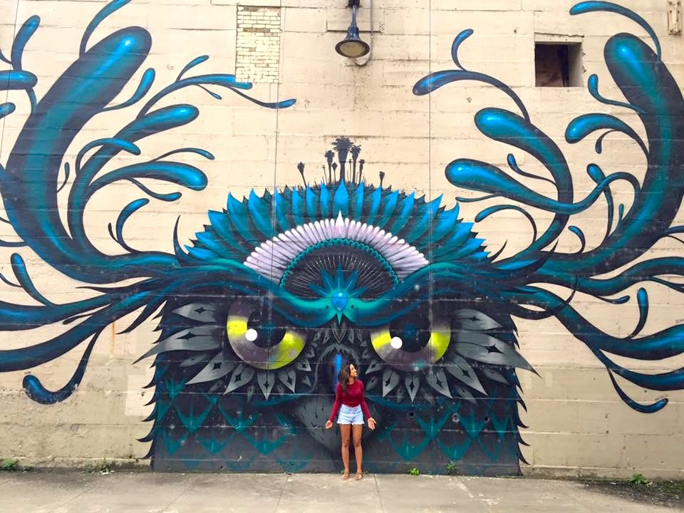 Owl RVA Mural Project | Packs Light