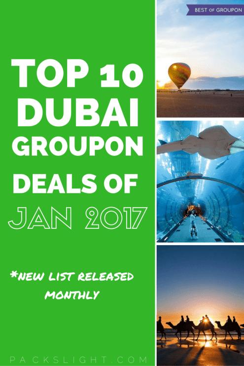 Groupon Deals | Jan 2017 Pin