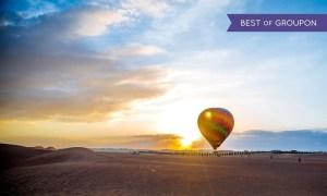 Hot Air Balloon   Groupon