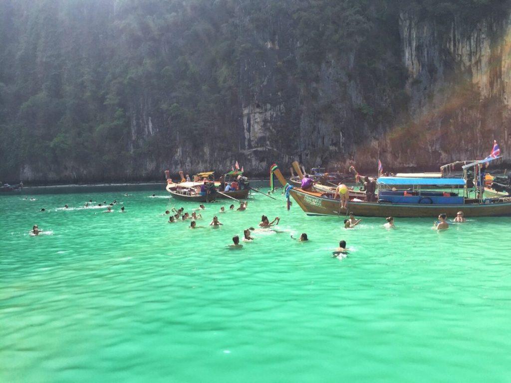 Ko Phi Phi Leh  Swimming| Thailand