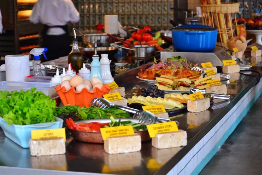 Breakfast Foods - Fabrika Hostel Tbilisi | Packs Light