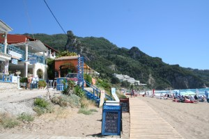 Our little boardwalk in Agios Gordios