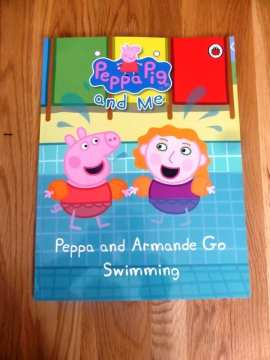 Win A Personalised Peppa Pig Swimming Book By Penwizard