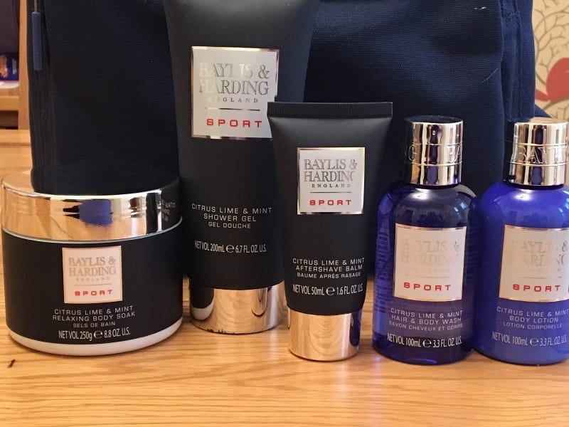 6567e179b2 Lloyds Pharmacy has some lovely gift sets for every member of the family  this Christmas. The Baylis   Harding Men s Citrus Lime   Mint Backpack is a  great ...