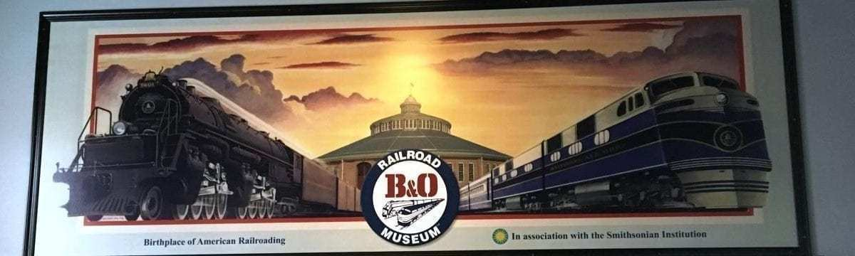 Our Visit to the B&O Railroad Museum, Baltimore, USA