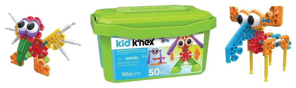 Kid K'NEX – The New Budding Builders Set