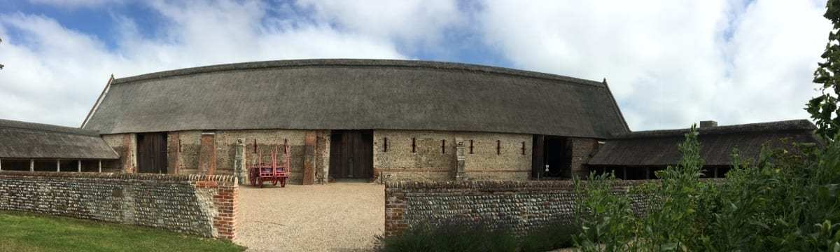 A Visit to Waxham Great Barn, Norfolk