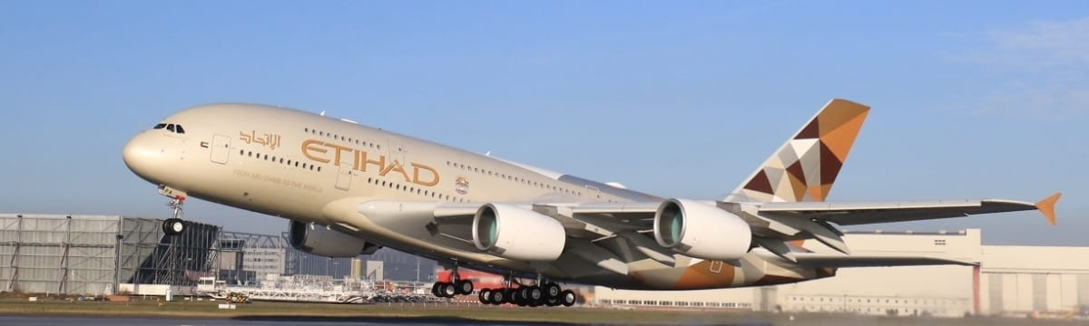 Flying to the Maldives on an Etihad Airways A380
