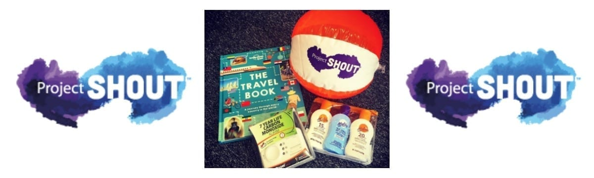 Win a Project SHOUT Travel Kit