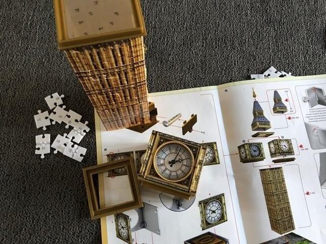 Review: Ravensburger 3D Puzzle, Big Ben, London