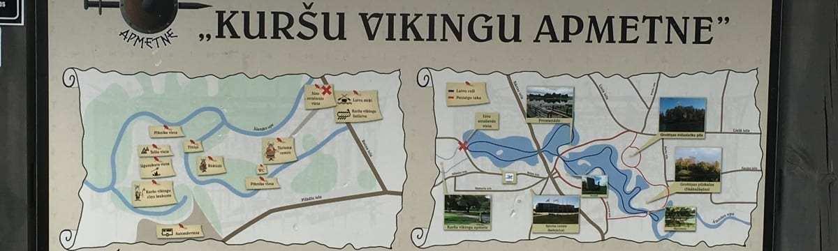 A Visit to the Curonian Viking Settlement, Grobina, Latvia