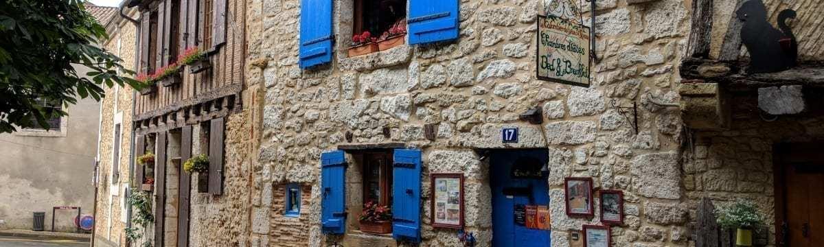 A Self-Guided Walk around Bergerac, Dordogne, France