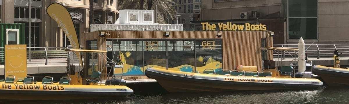 The Yellow Boats 99 Minutes Original Tour Dubai Marina, UAE