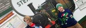 Taking the Scenic Isle of Wight Steam Railway to Meet Santa