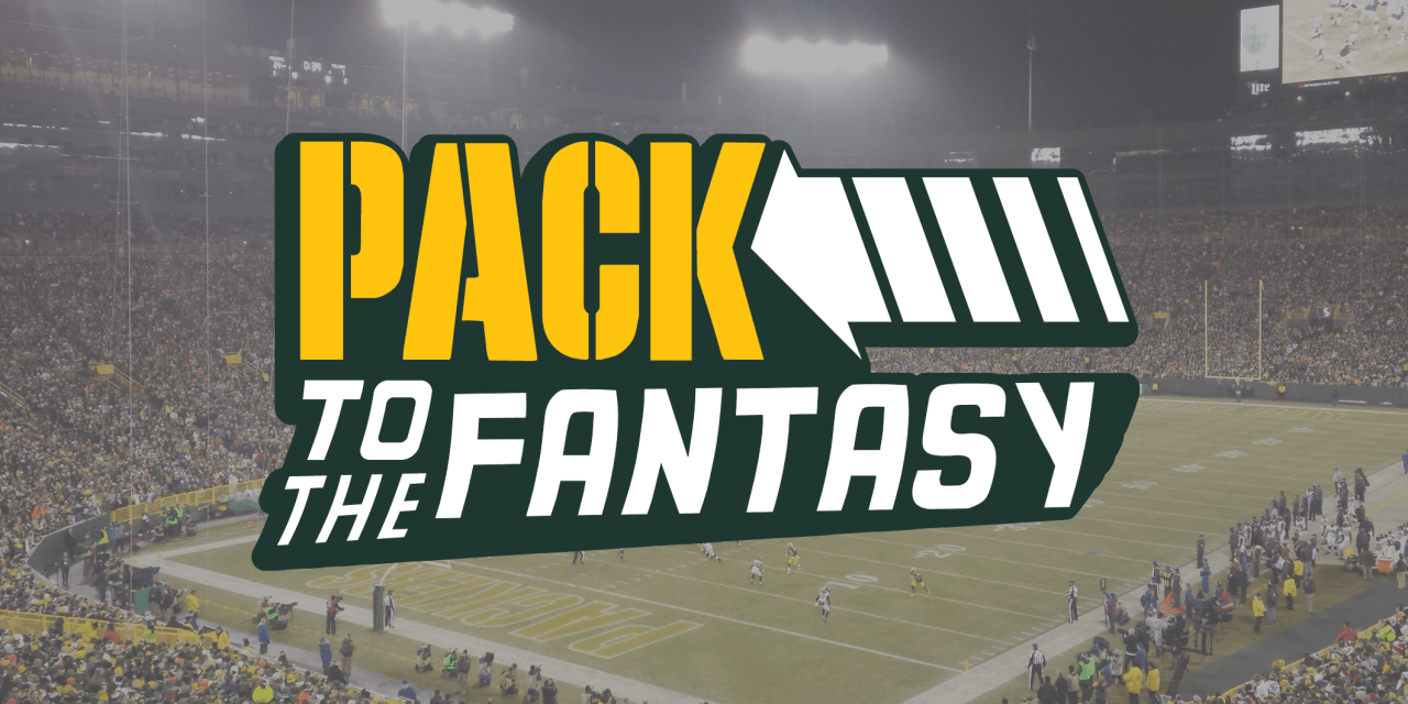 Pack to the Fantasy – Seahawks at Packers Week 1