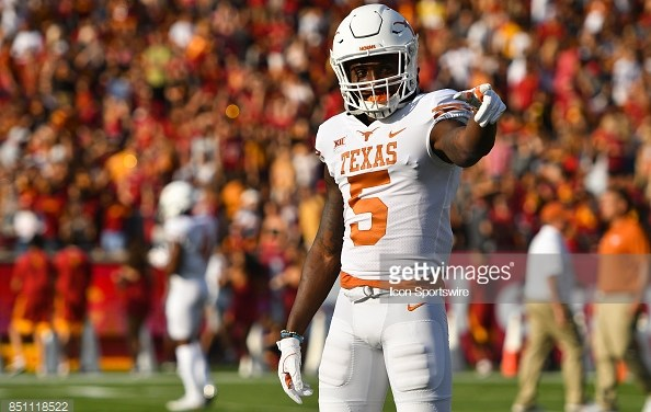 Scouting Report: Holton Hill – CB, Texas