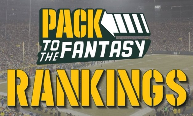 Pack to the Fantasy – Week 7 PPR Rankings