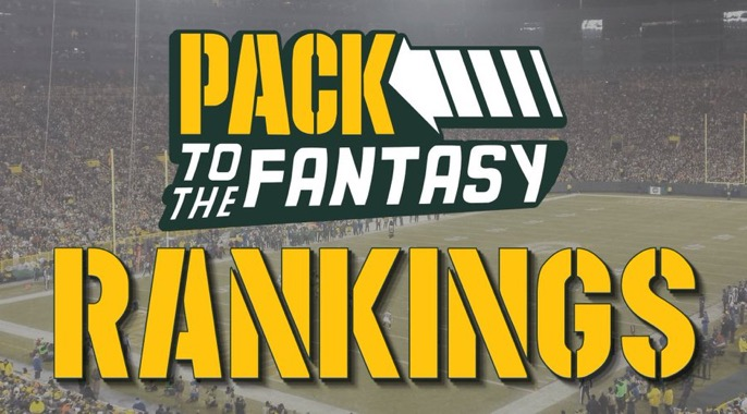 Pack to the Fantasy – Week 12 PPR Rankings