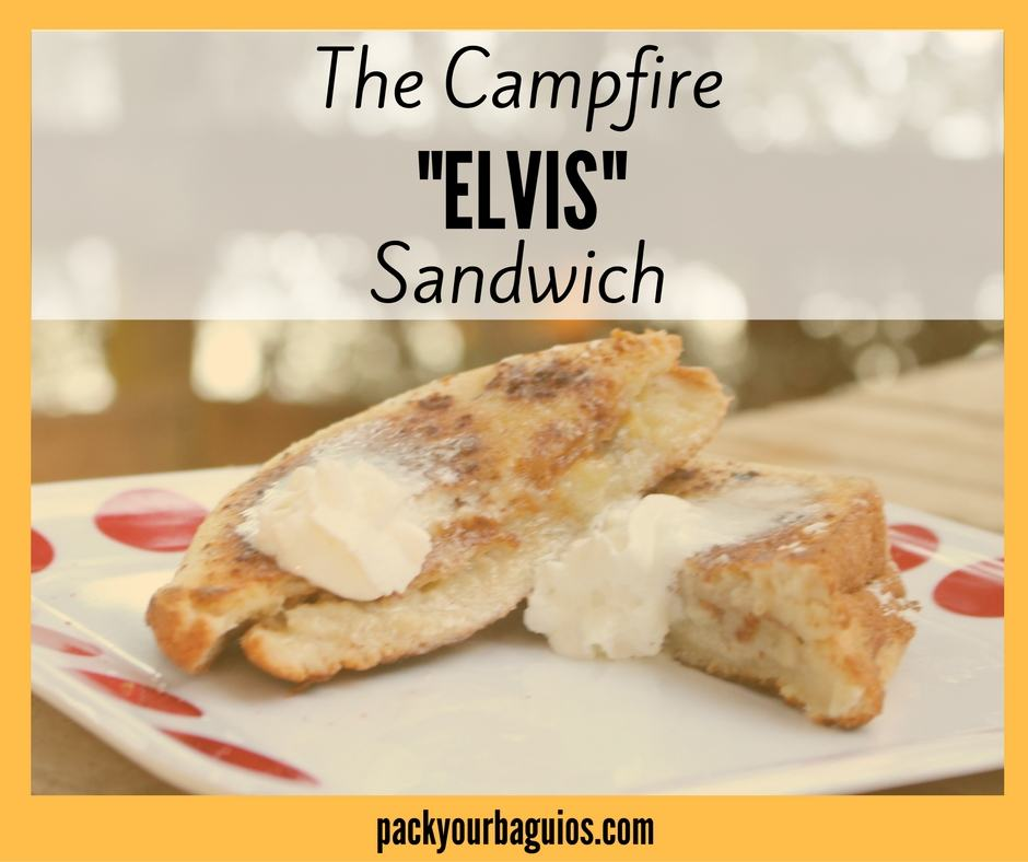 "The Campfire ""Elvis"" Sandwich"