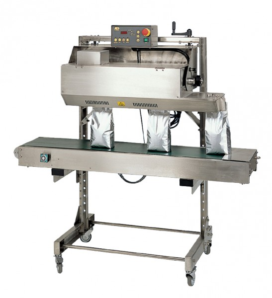 Band Sealer for Coffee Pouches and Coffee Bags  PAC Machinery