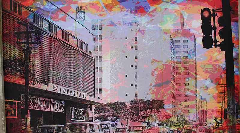 Carlos Kubo e a criatividade nos muros do cemitério