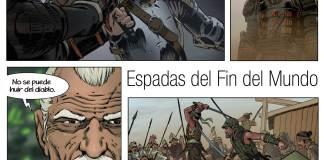 comic-carrion Espadas del FIn del Mundo Ángel Miranda