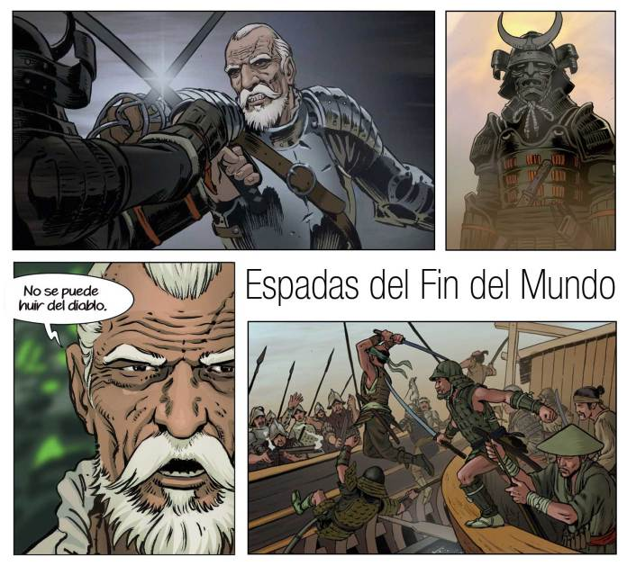 comic-carrion Espadas del FIn del Mundo Ángel Miranda