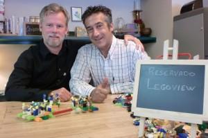 Neal Gorenflo y Paco Prieto. Lego entrevista. Gijón, octubre 2014