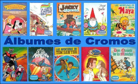 albumes de cromos