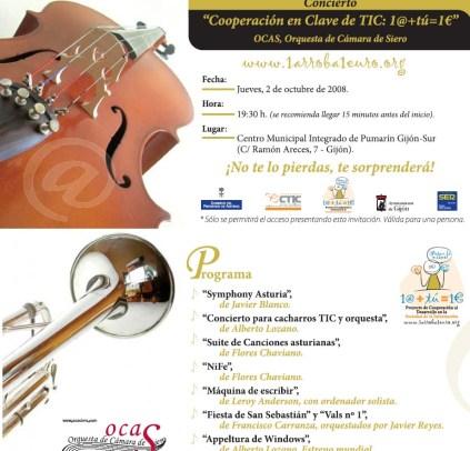 Programa del Concierto.