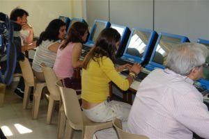Aula de Informática en Centro Penitenciario Villabona