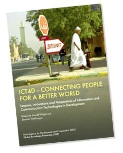 Portada del libro ICT4D Connecting people for a better world.